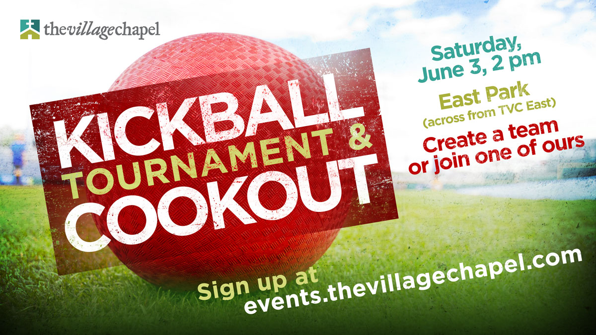 Kickball Tournament & Cookout